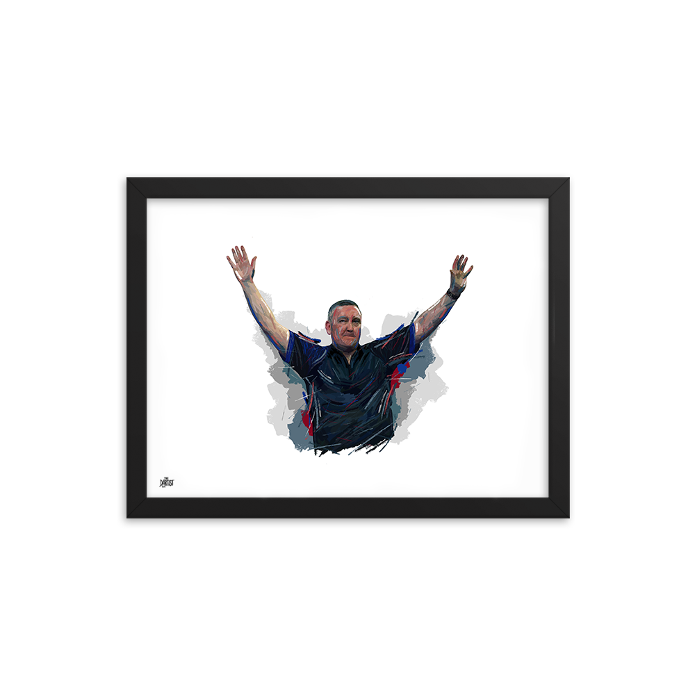 Glen Durrant Print - The Dartist