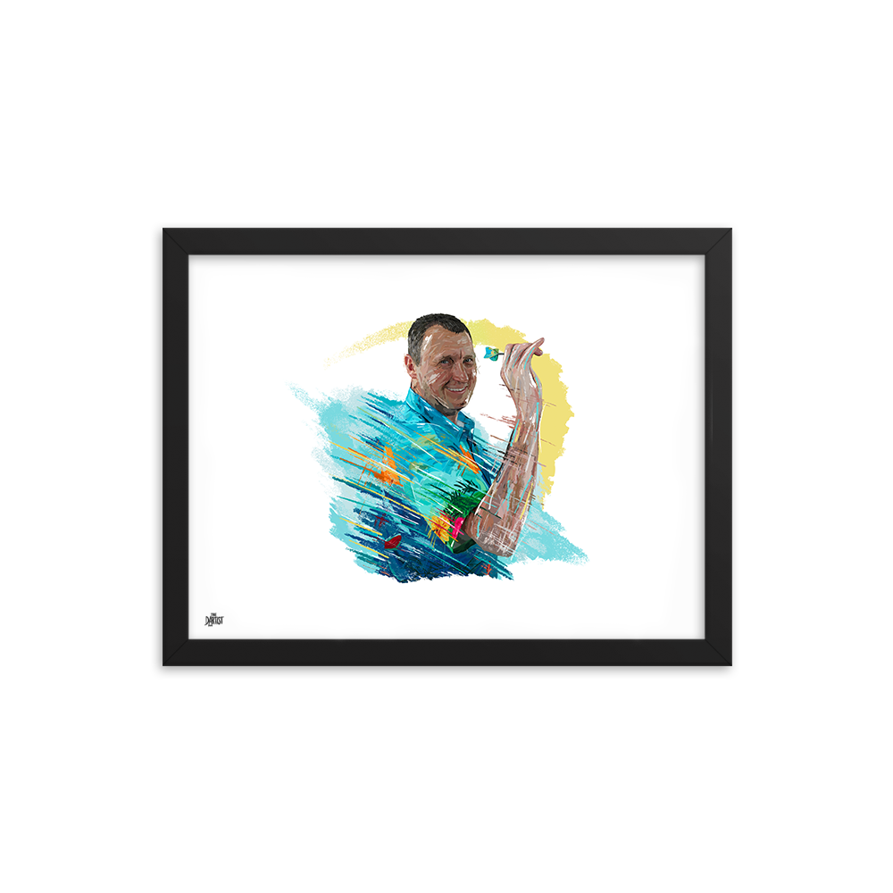 Wayne Mardle Print - The Dartist