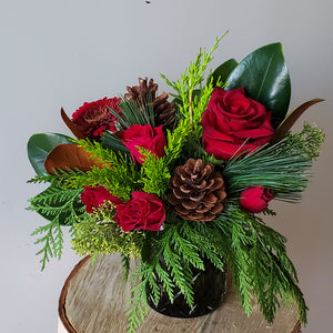 Woodland Holiday Floral