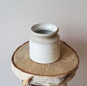 Natural Pottery Style Pot