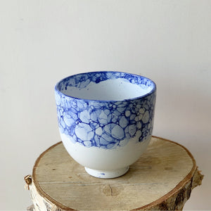 Blue Design Pot
