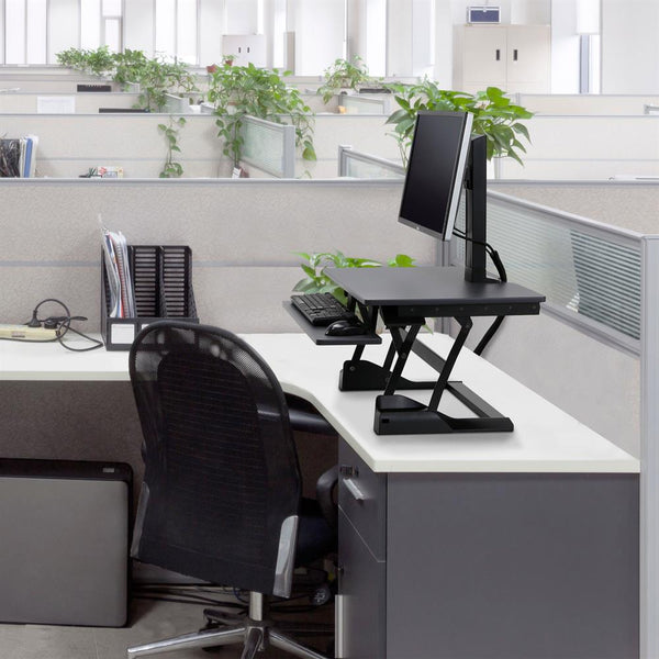 Stand A Desk WorkFit-TS Compact Desk Converter