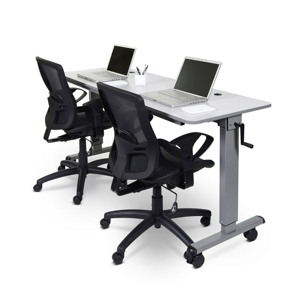 Stand A Desk Adjustable Crank Table - 60""