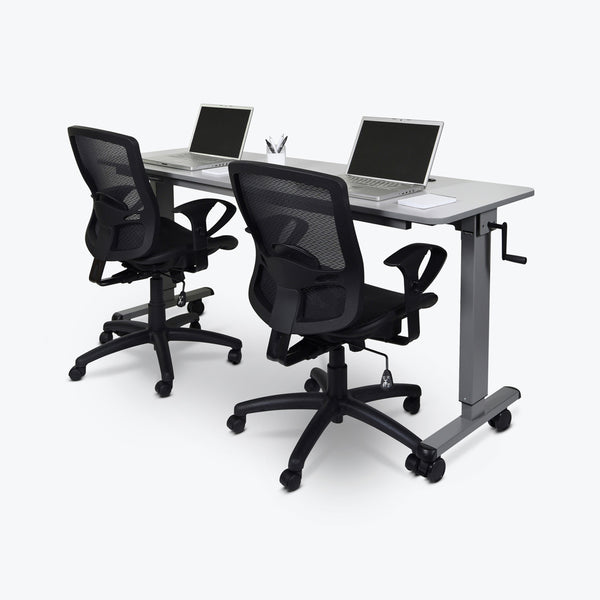 Stand A Desk Adjustable Crank Table - 72""