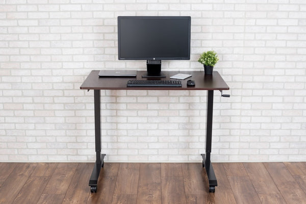 Stand A Desk Adjustable Crank Desk
