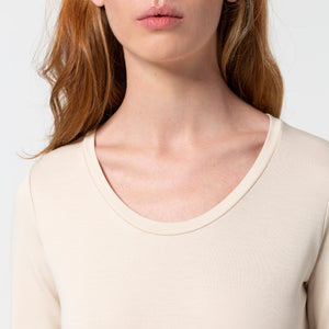 Load image into Gallery viewer, Liapure Rounded V-Neck Longsleeve