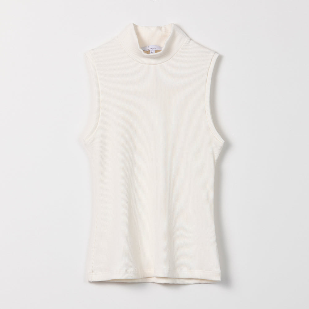 Load image into Gallery viewer, Liapure Rib Turtleneck Tank