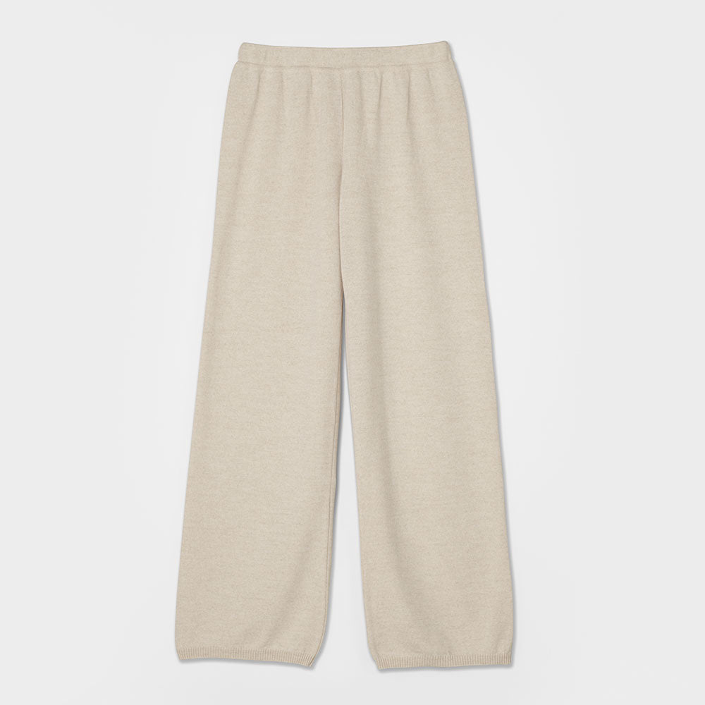 Essential Knit Pants - Beige