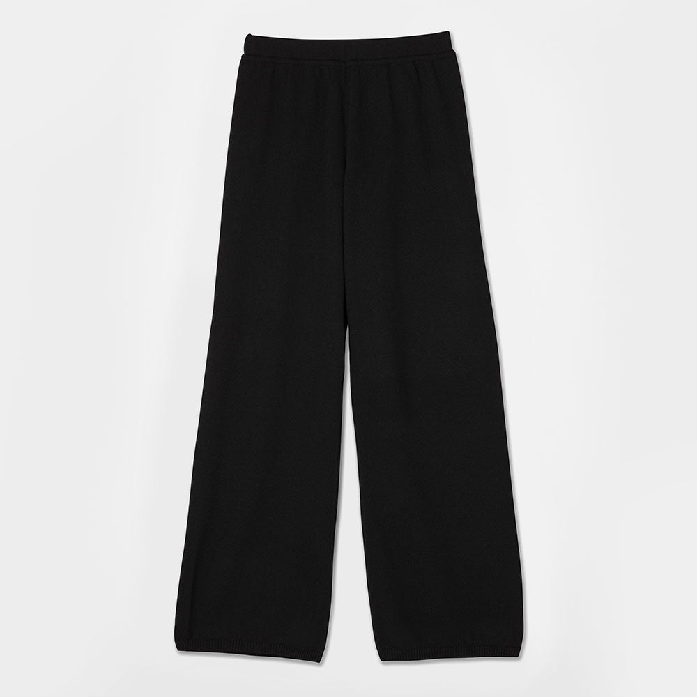 Essential Knit Pants - Black