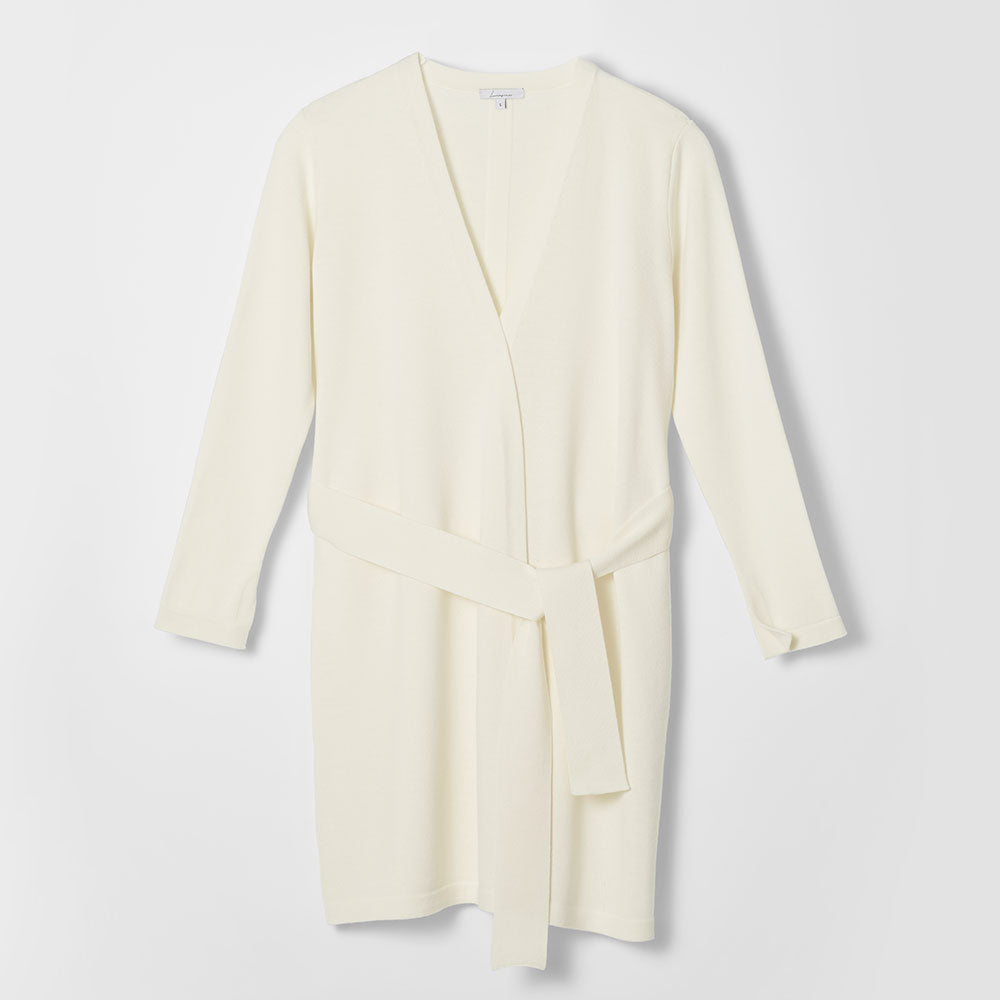 SOLD OUT-Essential Knit Cardigan - Creme