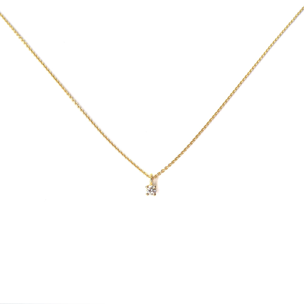 Ultrafine Diamond Necklace