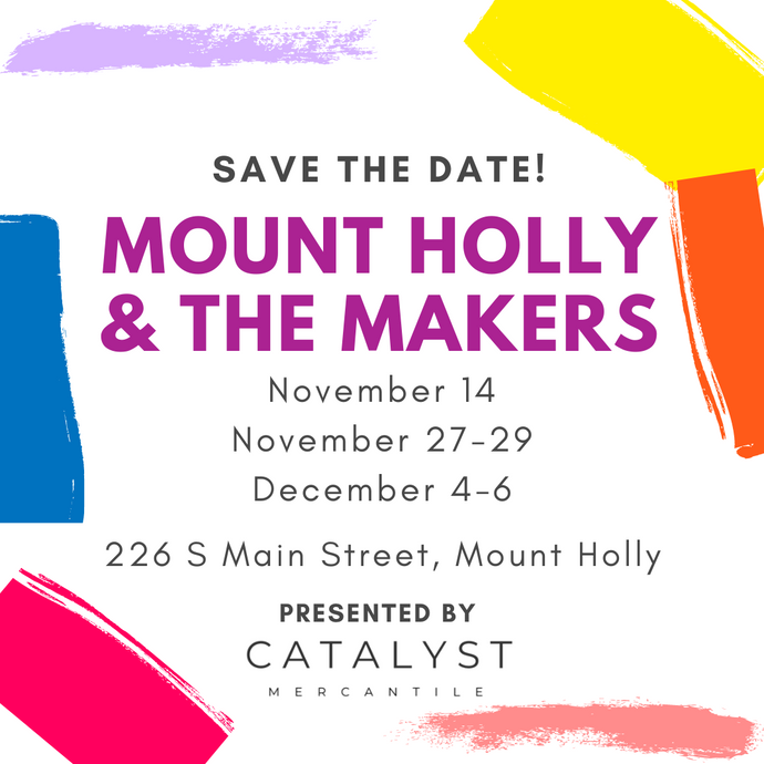 Mount Holly & the Makers Pop Up Markets