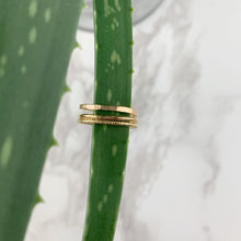 Load image into Gallery viewer, Gold Smooth Stacking Ring - The Catalyst Mercantile