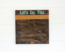 Load image into Gallery viewer, Let's Do This Board w/ Cork - The Catalyst Mercantile