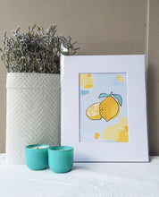 Load image into Gallery viewer, Lemon Print - The Catalyst Mercantile