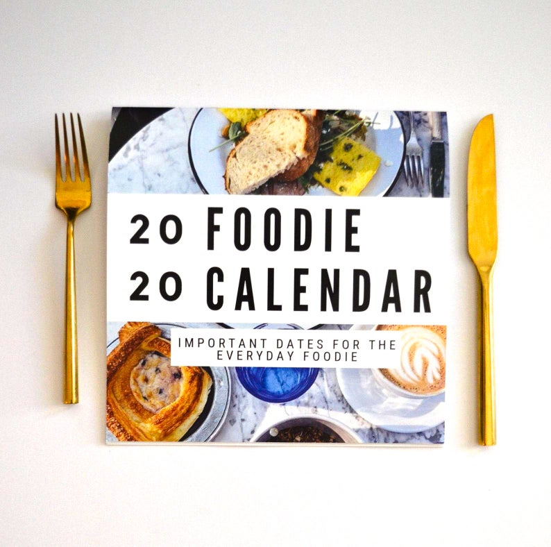 2020 Foodie Calendar - The Catalyst Mercantile