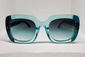 Oversized Fashion Turquoise shades