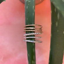 Load image into Gallery viewer, Silver Smooth Stacking Ring - The Catalyst Mercantile