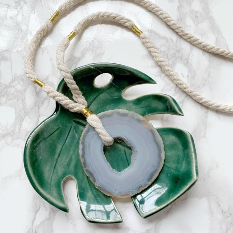 Frankie Agate Necklace - The Catalyst Mercantile
