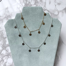Load image into Gallery viewer, Medallion Dainty Necklace - The Catalyst Mercantile