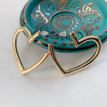 Load image into Gallery viewer, Love Drunk Heart Hoops - The Catalyst Mercantile
