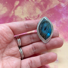 Load image into Gallery viewer, Labradorite Cocktail Ring - The Catalyst Mercantile