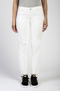 Bahamas Carly Cropped White Jeans