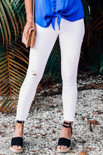 Load image into Gallery viewer, Bahamas Carly Cropped White Jeans