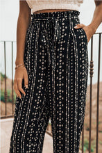 Load image into Gallery viewer, Brooklyn Boho Paper Bag High Waist Pants - The Catalyst Mercantile