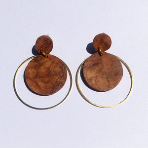 Cherry Brandy Earrings