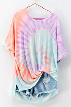Load image into Gallery viewer, Cotton Candy Swirl Tie Dye Top - The Catalyst Mercantile