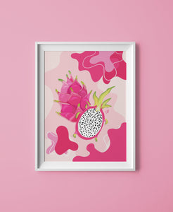 Dragonfruit Print - The Catalyst Mercantile
