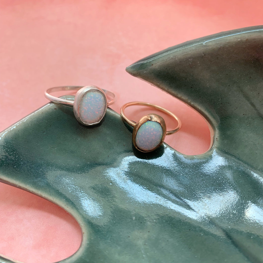 Opal Statement Ring - The Catalyst Mercantile