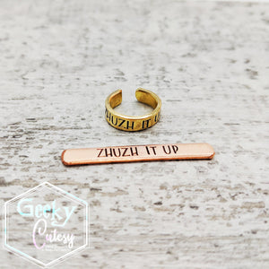 Stamped Ear Cuffs
