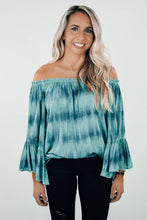 Load image into Gallery viewer, Elizabeth Off-Shoulder Tie Dye Tunic - The Catalyst Mercantile