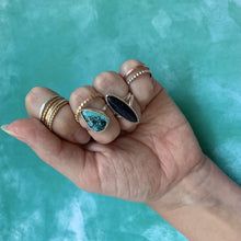 Load image into Gallery viewer, Turquoise Teardrop Ring Size 9.5 - The Catalyst Mercantile
