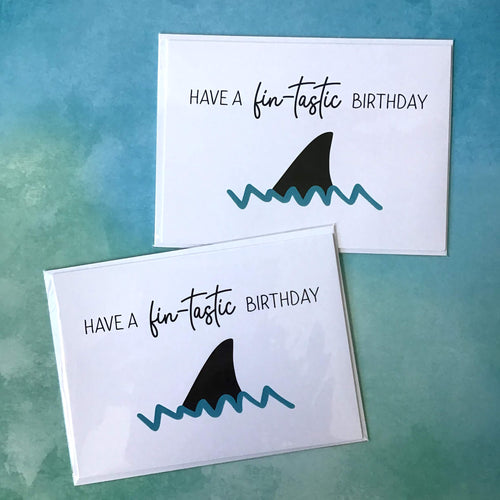 Have a FIN-tastic Birthday - The Catalyst Mercantile