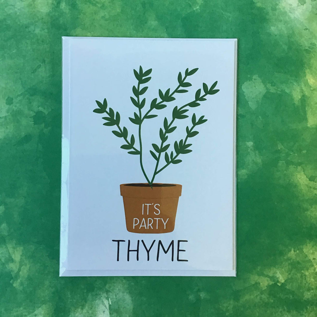 It's Party Thyme - The Catalyst Mercantile