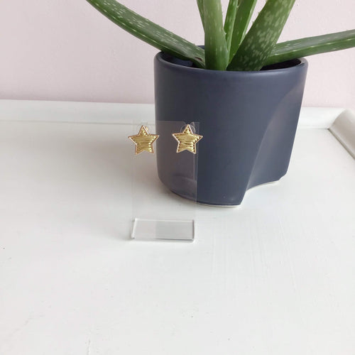 Gold Star Studs - The Catalyst Mercantile