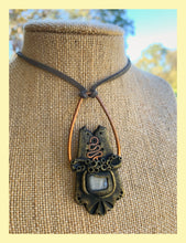Load image into Gallery viewer, Copper and Moonstone Pendant