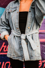 Load image into Gallery viewer, Classic Oversized Denim Jacket