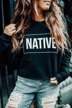 Load image into Gallery viewer, Native Cropped Sweatshirt