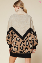 Load image into Gallery viewer, Rule the World Leopard Tunic Dress