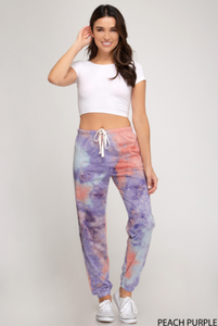 Sunset Boardwalk Lightweight Terry Jogger Pants