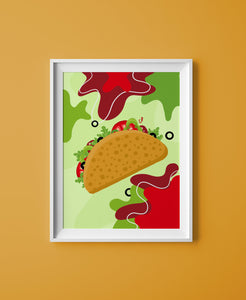 Taco Print - The Catalyst Mercantile