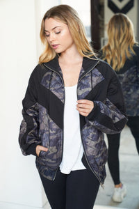 Undercover Camo Quilted Jacket