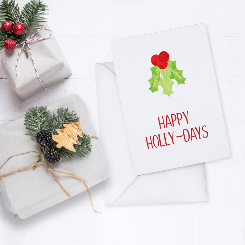 Oh Script Holidays Boxed Card Set
