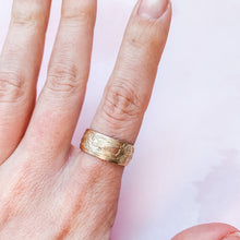 Load image into Gallery viewer, Goddess Wide Band Statement Ring