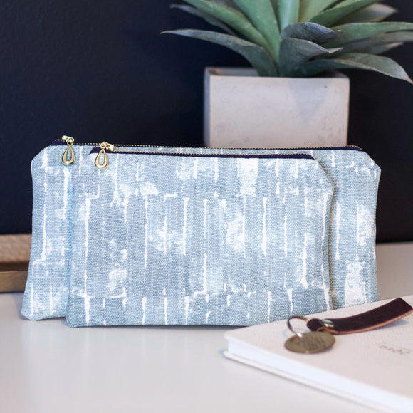 Watercolor Zipper Pouch - The Catalyst Mercantile