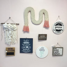 Load image into Gallery viewer, Coral Reef Macrame Wall Hanging